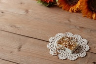 wood, flowers, texture