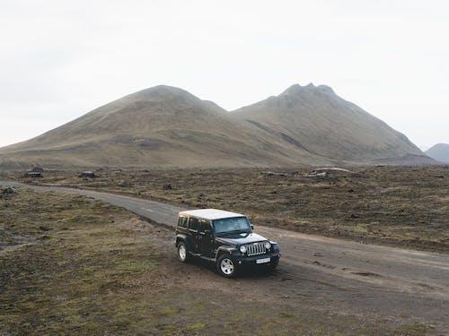 交通系統, 冰島, 山, 山丘 的 免費圖庫相片