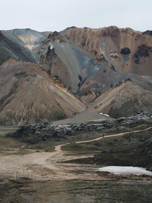 アイスランド, 屋外, 山, 砂漠の無料の写真素材