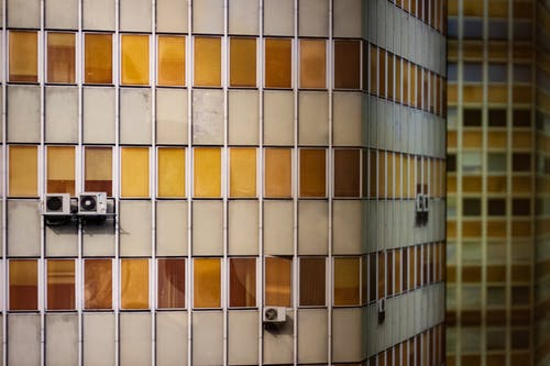 Kostenloses Stock Foto zu aircon, architektur, architekturdesign, außen