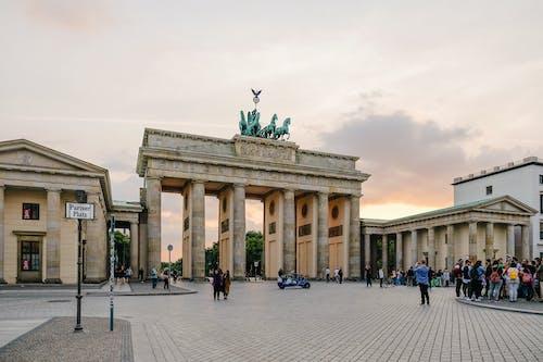 건축, 도시, 독일, 베를린의 무료 스톡 사진