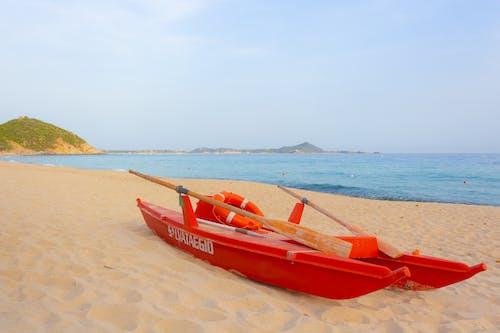 Foto d'estoc gratuïta de mar, platja, sardenya, seguretat a la platja