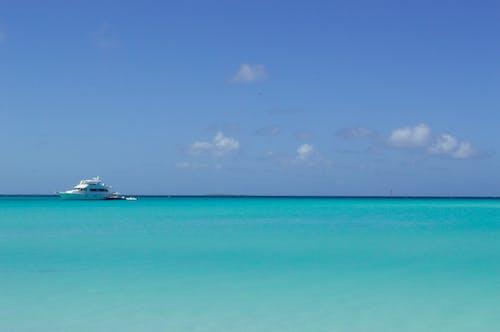 Free stock photo of beach, boat, sky