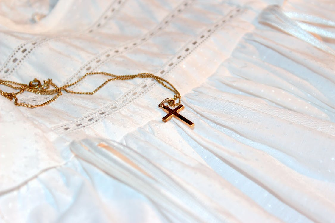 bracelet de baptême, catholique, chaîne