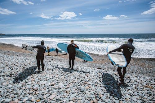 Δωρεάν στοκ φωτογραφιών με ακτή, άνδρες, Άνθρωποι, διασκέδαση