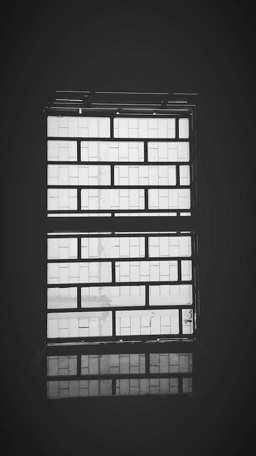 블랙 앤 화이트, 창문의 무료 스톡 사진