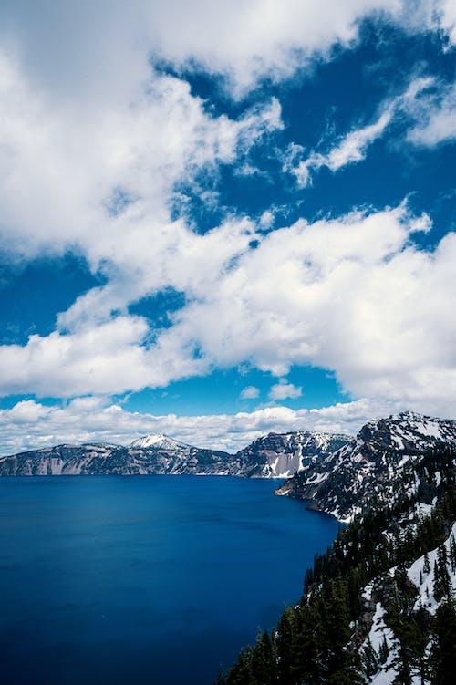 Kostnadsfri bild av berg, fågelperspektiv, från ovan, himmel