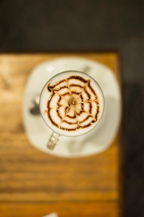 kafe, kafeterya, Kahve, kahve fincanı içeren Ücretsiz stok fotoğraf