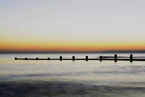 Gratis lagerfoto af fredelig, hav, havudsigt, morgengry