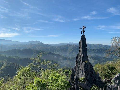 Free stock photo of adrenaline, adventure, bravery, climbing