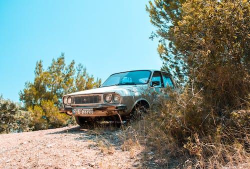 Kostenloses Stock Foto zu altes auto, auto, fahrzeug, geparkt
