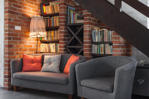 Fotos de stock gratuitas de adentro, apartamento, arquitectura, asiento