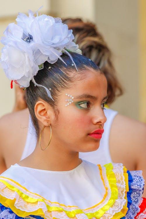 Fotobanka sbezplatnými fotkami na tému dievča, festival, krása, krásna
