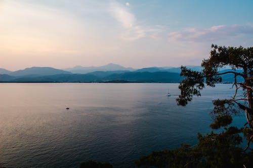天性, 天空, 山, 海 的 免费素材照片