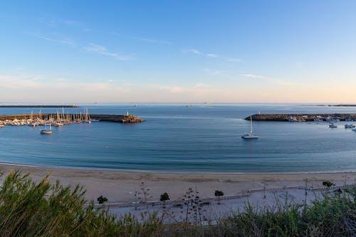 Foto d'estoc gratuïta de badia, barques, Costa, illa