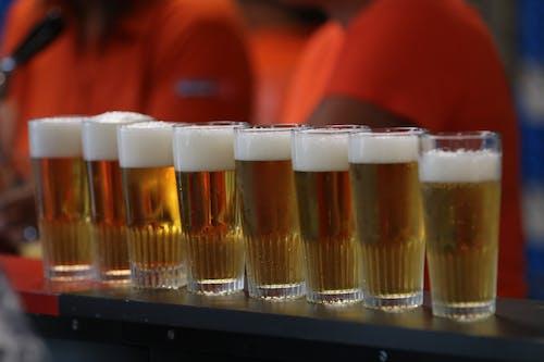 Бесплатное стоковое фото с пивной бокал, пиво
