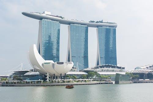 Foto profissional grátis de arquitetura, arranha-céu, centro da cidade, cidade