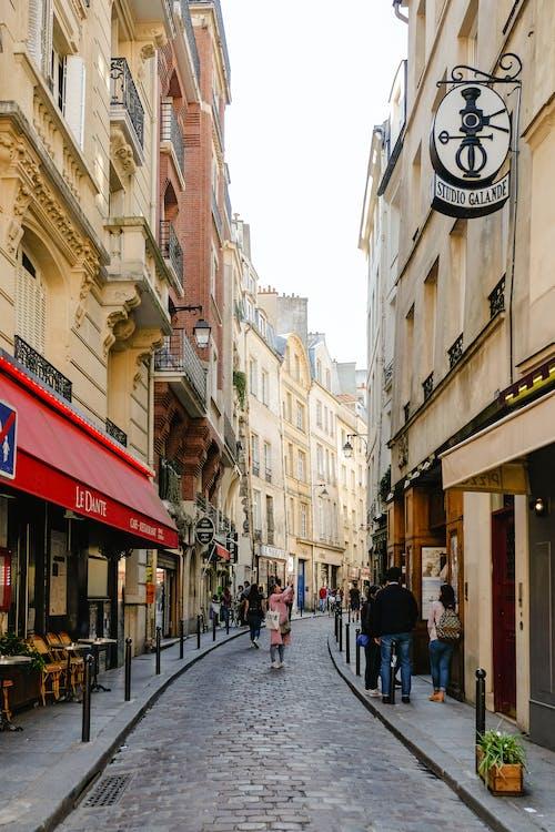 các tòa nhà, cảnh quan thành phố, cửa hàng
