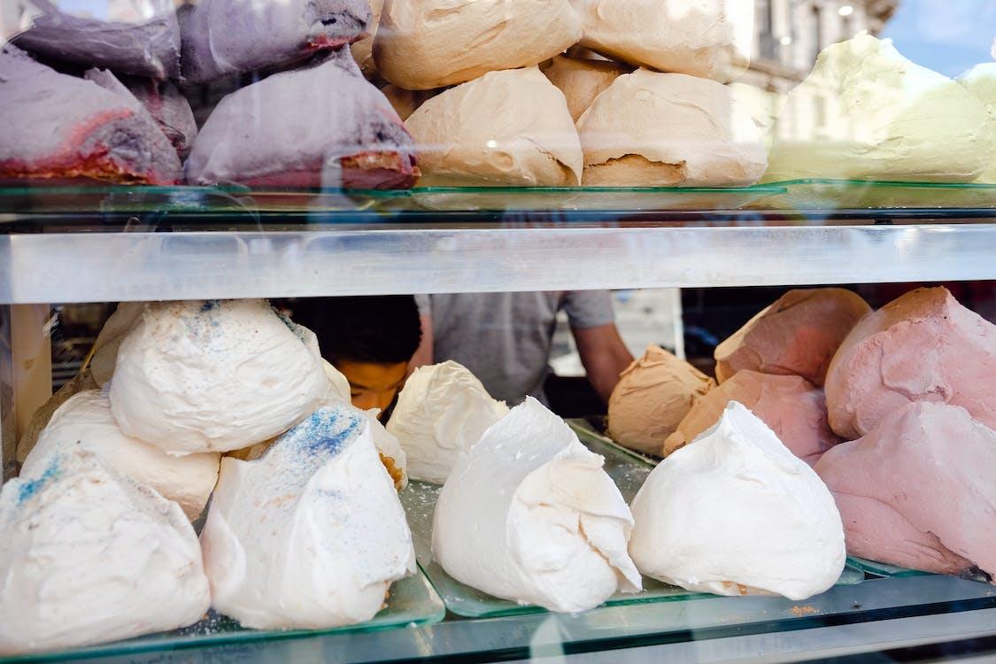 คลังภาพถ่ายฟรี ของ ขนมเมอร์แรง, ของหวาน, ปารีส