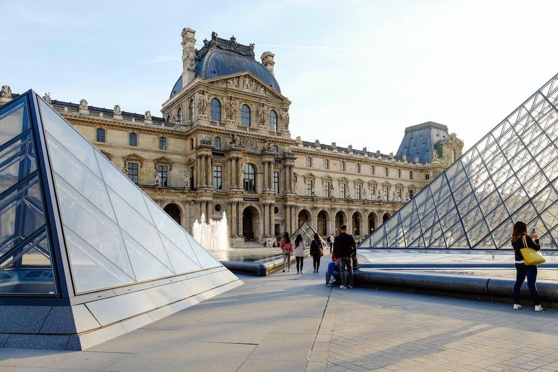 Fotobanka sbezplatnými fotkami na tému architektúra, budova, Louvre