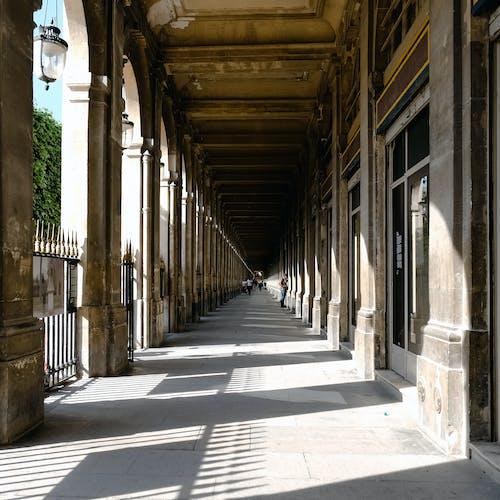 Grey Hallway