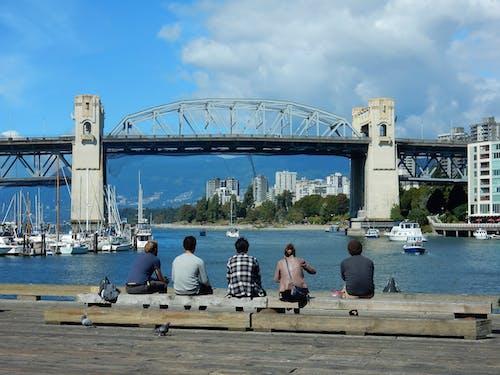 Tourists at Harbor