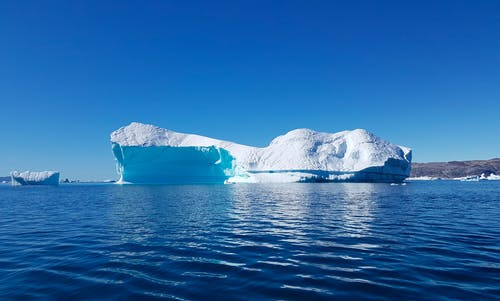 Iceberg In Body Of Water