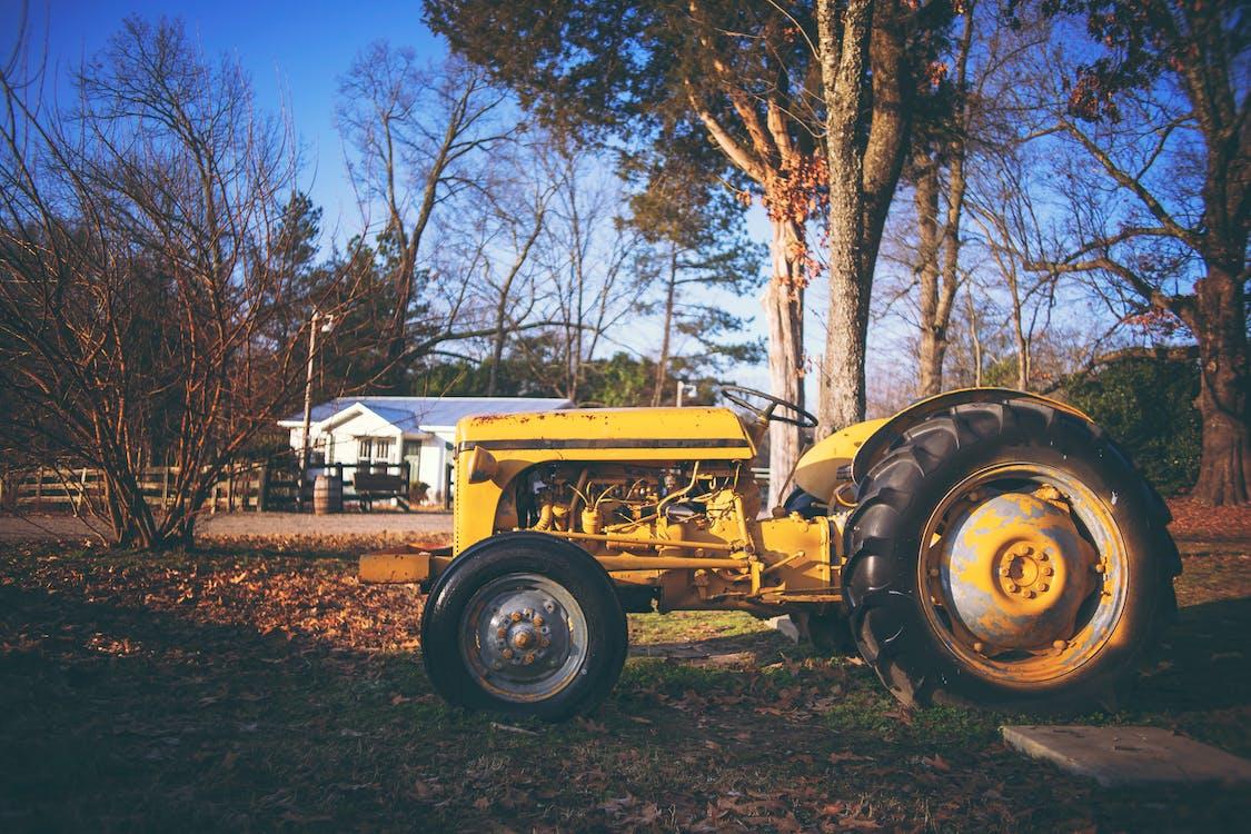 грузовик, оборудование, трактор
