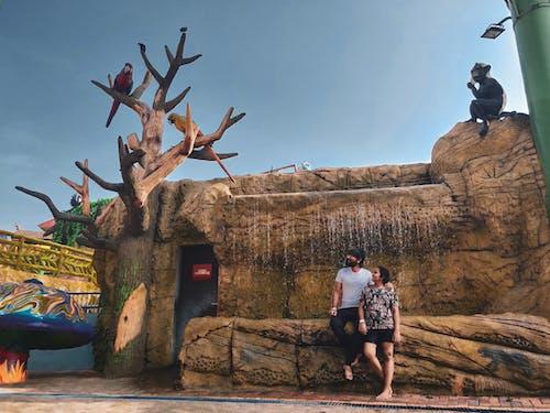 Бесплатное стоковое фото с активный отдых, веселье, вода, выражение лица