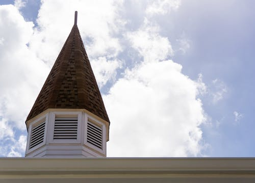 Free stock photo of carribean, cayman islands, church, clouds