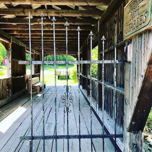 Free stock photo of vermont covered bridge
