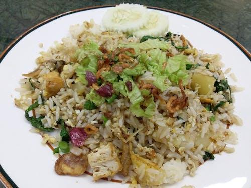 Kostnadsfri bild av stekt ris med mycket ingredienser