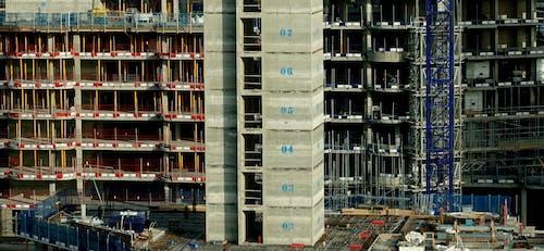 Gratis stockfoto met bouwplaats, flat