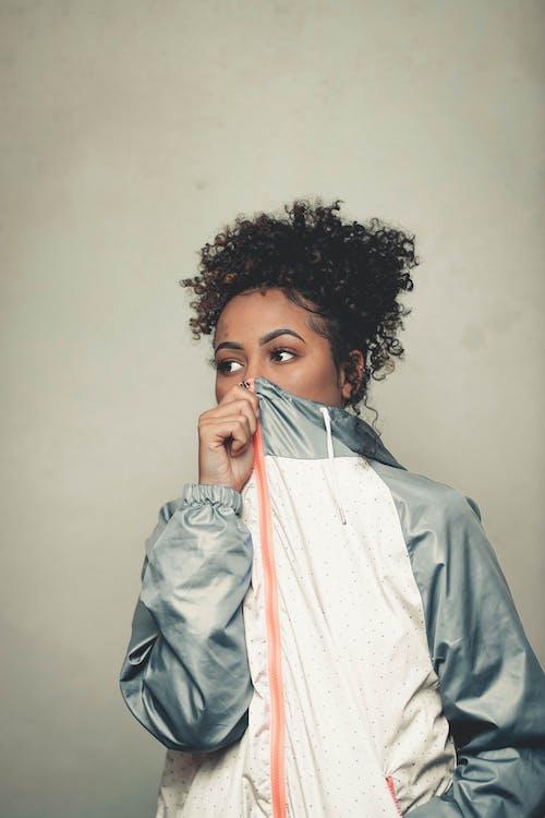 Základová fotografie zdarma na téma afro, krásný, móda, na výšku