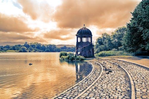 公園, 塔, 幻想, 棕色 的 免费素材照片
