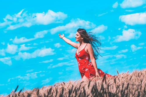 休閒, 假期, 多風, 女人 的 免费素材照片