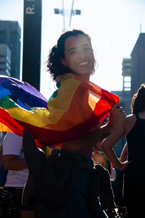 Gratis lagerfoto af gay pride-h, gay-h, glad, kvinde
