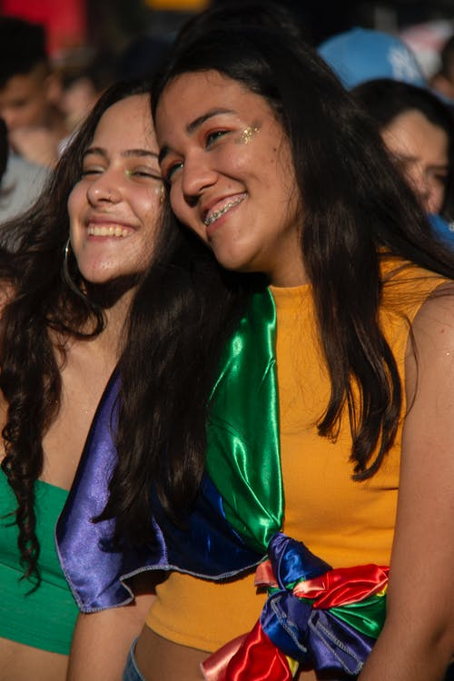 Gratis arkivbilde med gay pride-h, glad, homofilt, kvinne