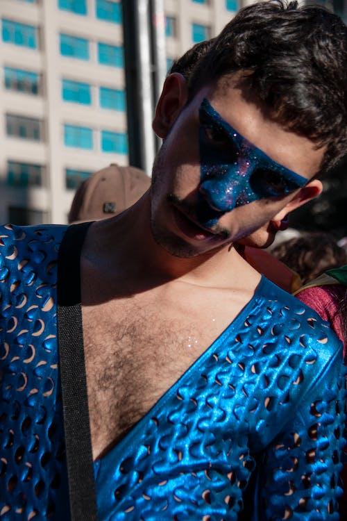Gratis arkivbilde med gay pride-h, homofilt, kostyme, mann