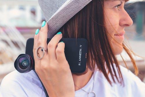 Foto stok gratis alat, atraktif, gadget, handphone