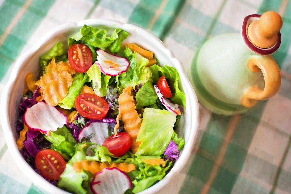 menu makanan sehat berupa salad