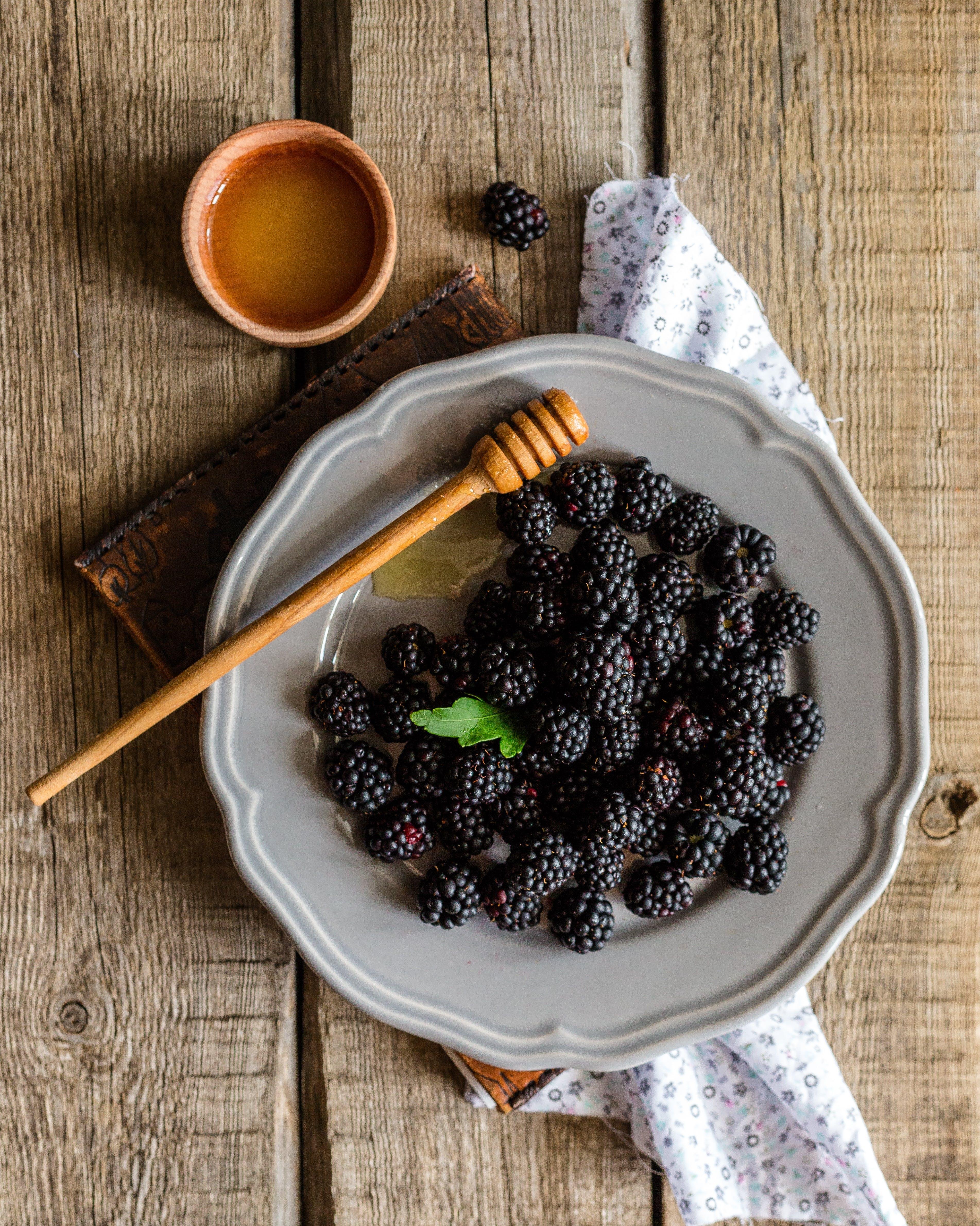 blackberry, bobule, čerstvý