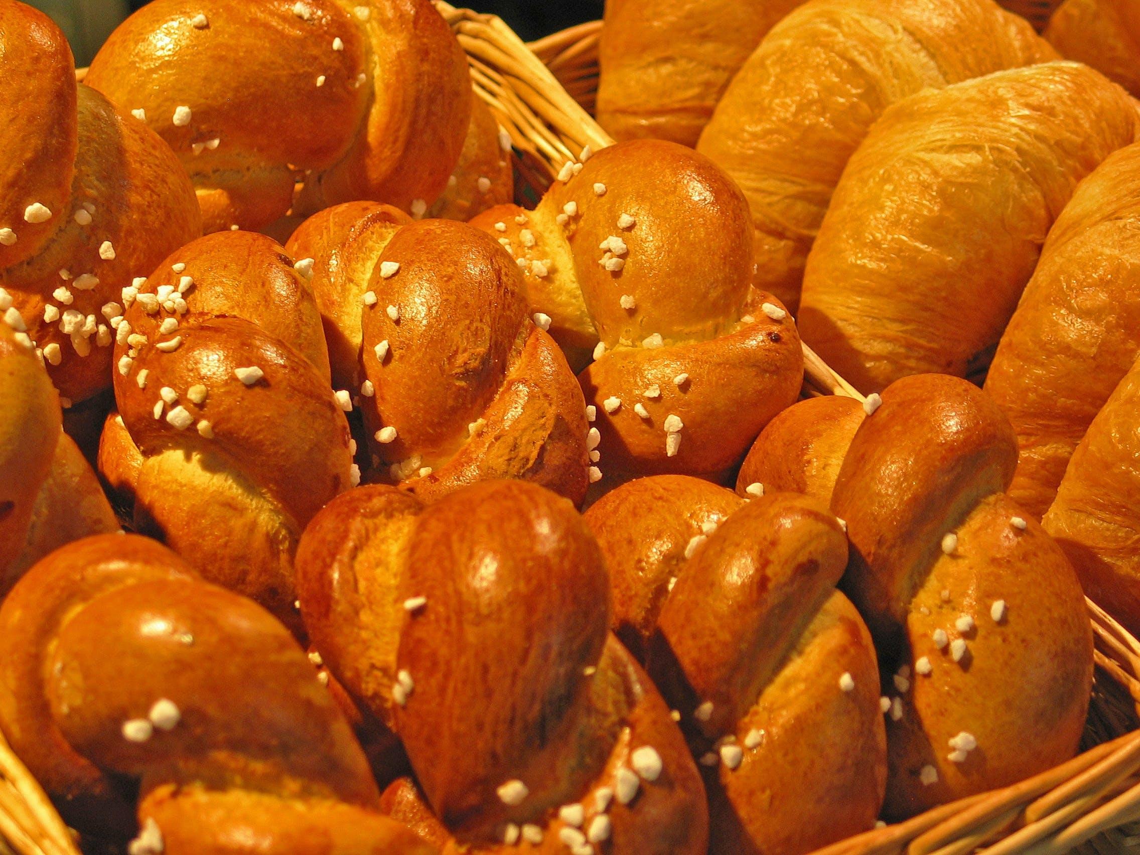 Full Frame Shot of Breads