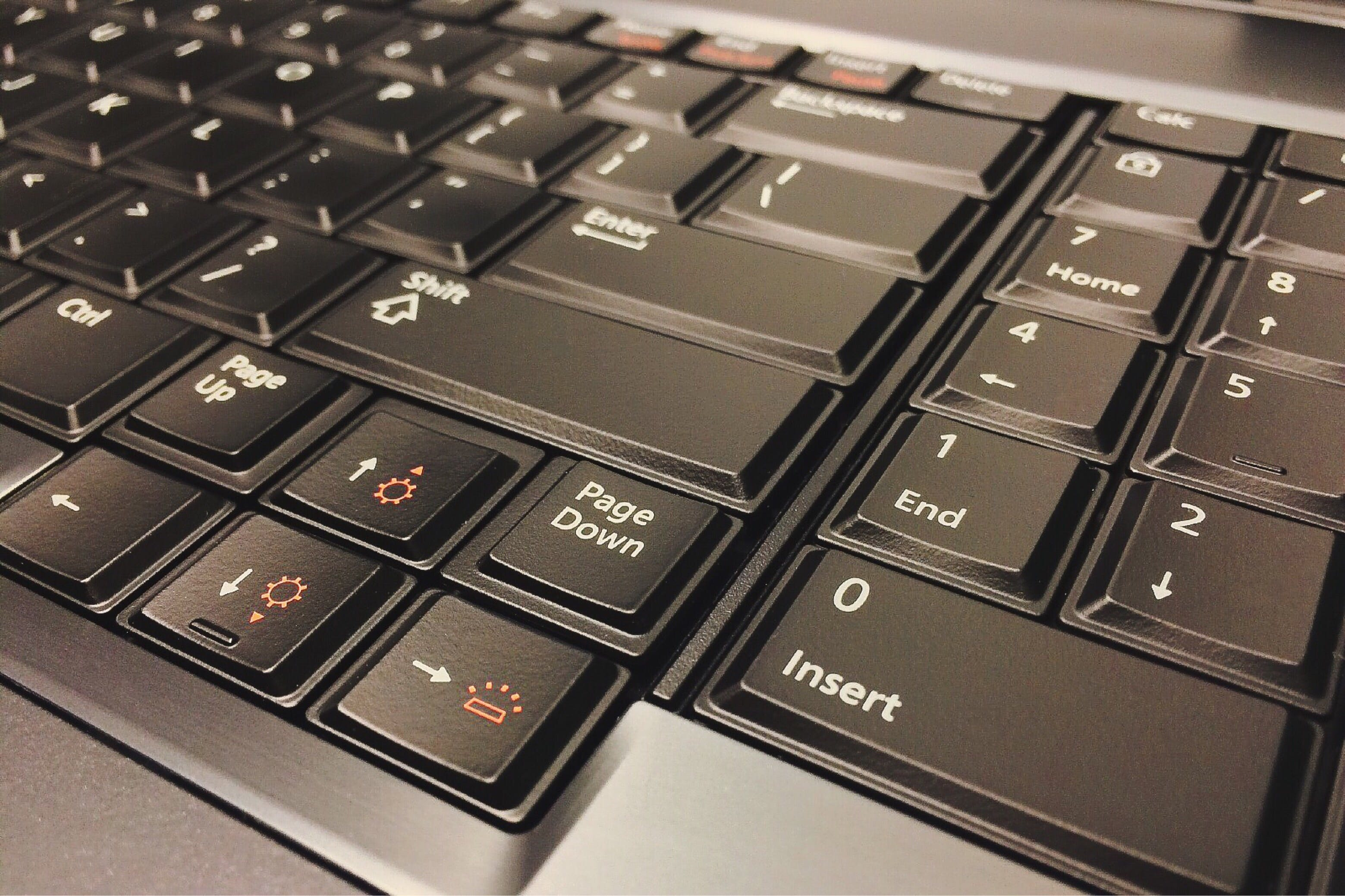 Full Frame Shot of Computer Keyboard