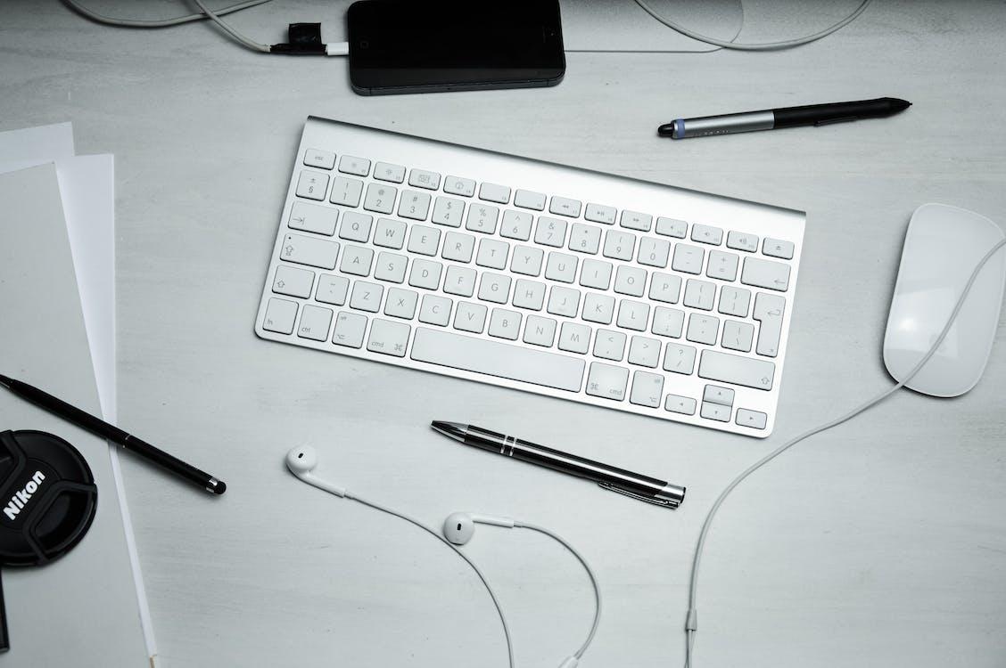 bezdrátový, domácí kancelář, elektronika