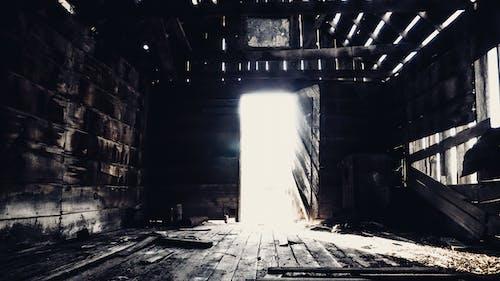 Free stock photo of abandon, abandoned building, cowboy, crack