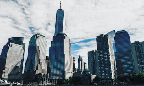 城市, 大蘋果, 天際線, 市中心 的 免費圖庫相片