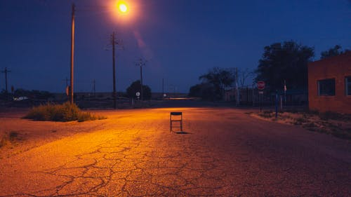Free stock photo of abandon, alone, avenue, chair