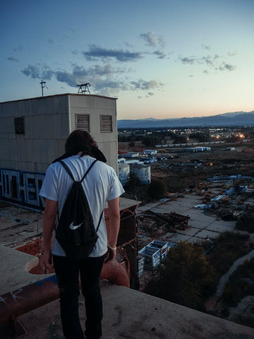 Photo Of Man On The Rooftop
