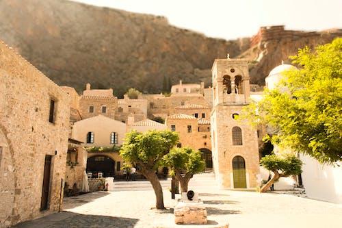 Fotobanka sbezplatnými fotkami na tému Grécko, krajina, mesto, monemvasia